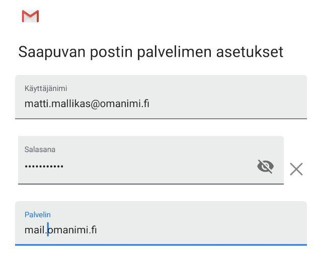 Gmail Asetukset Android